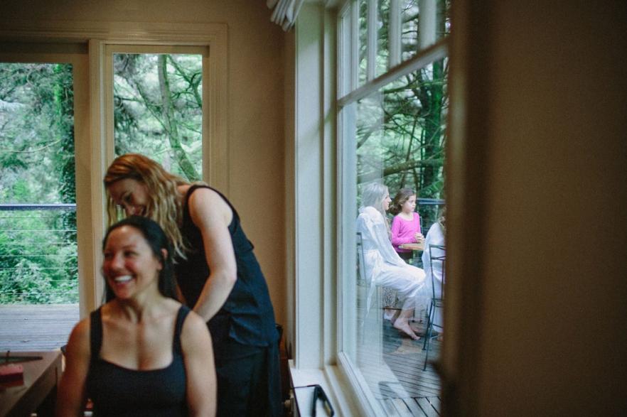 Bride Prep Wedding Photography